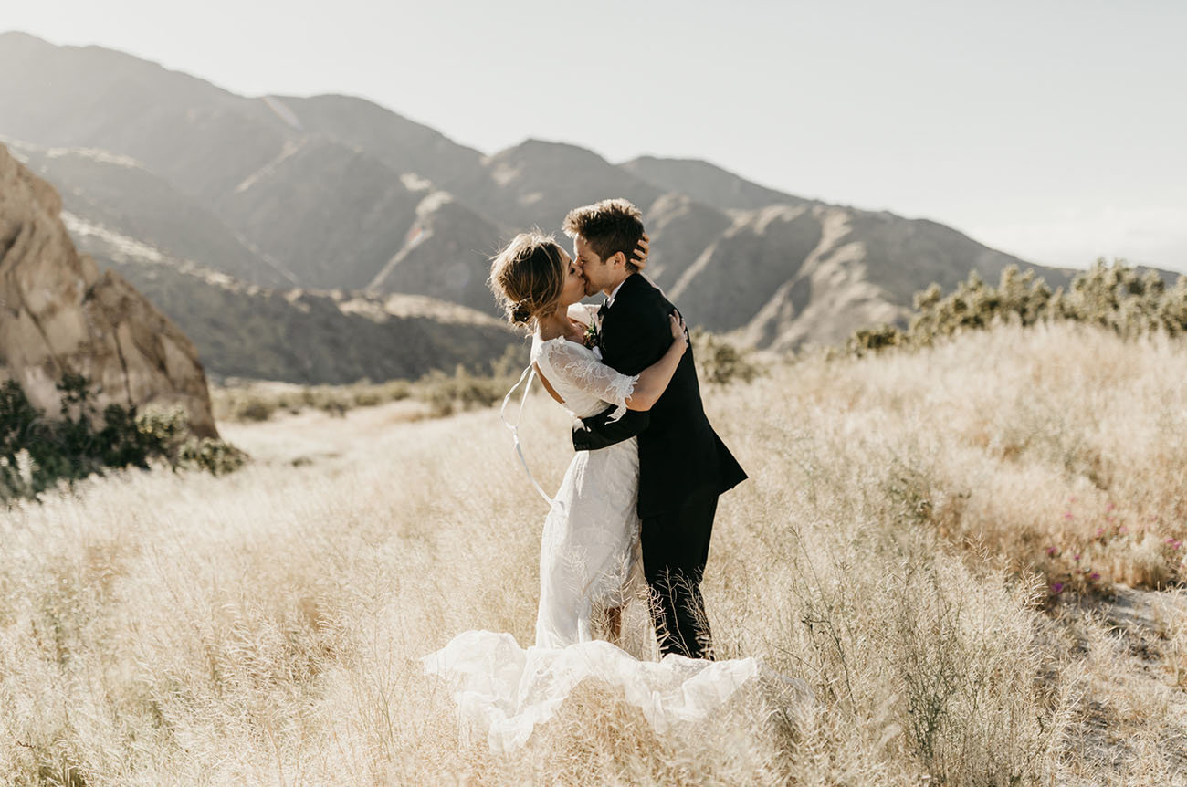 Bougainvillea + Boho Chic: An Epic Wedding in Palm Springs