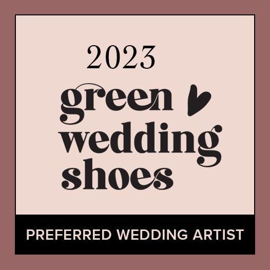 """GWS Preferred Wedding Artist Badge"""""""