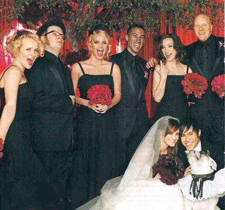 Celeb Wedding Inspiration Ashlee Simpson Amp Pete Wentz