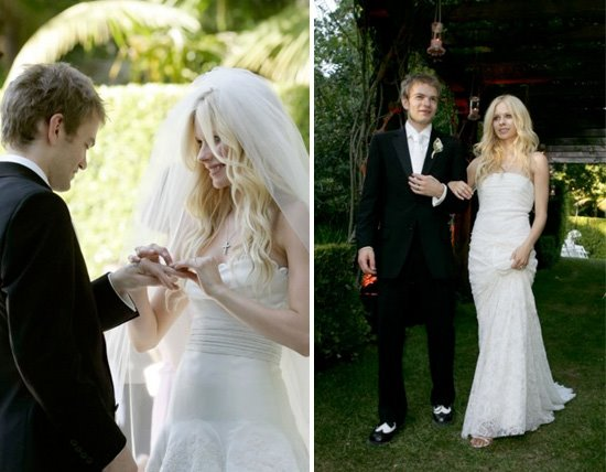 Avril Lavigne Amp Deryck Whibley Celebrity Wedding