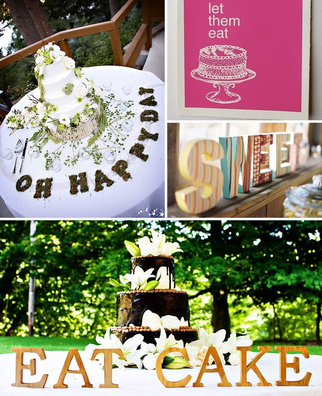 cake signs