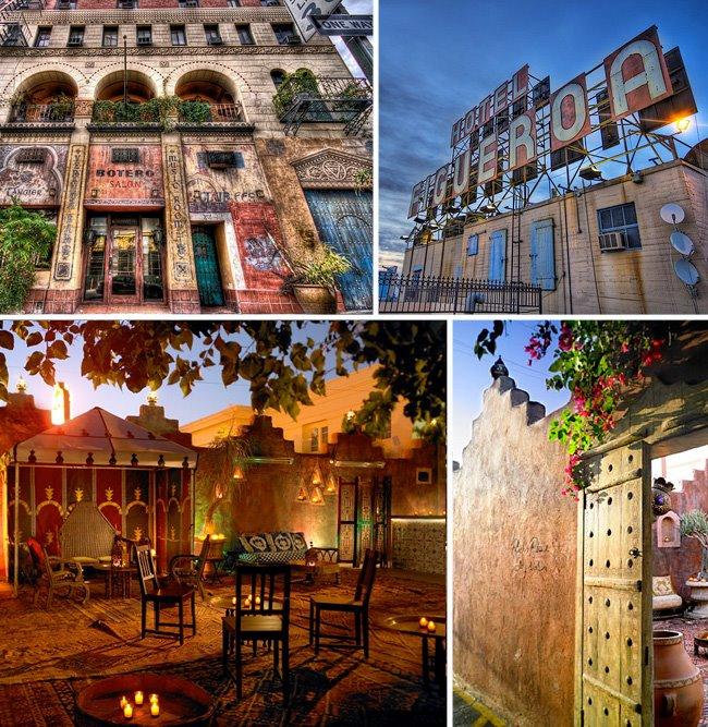 Moroccan inspired figueroa hotel la wedding venue green for Haunted hotels in los angeles ca