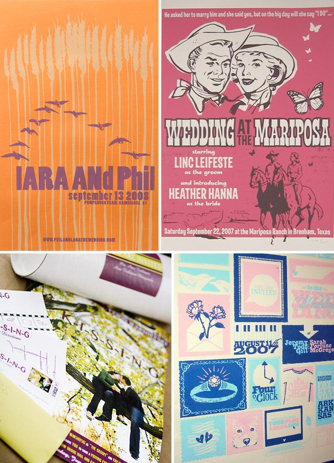 wedding posters