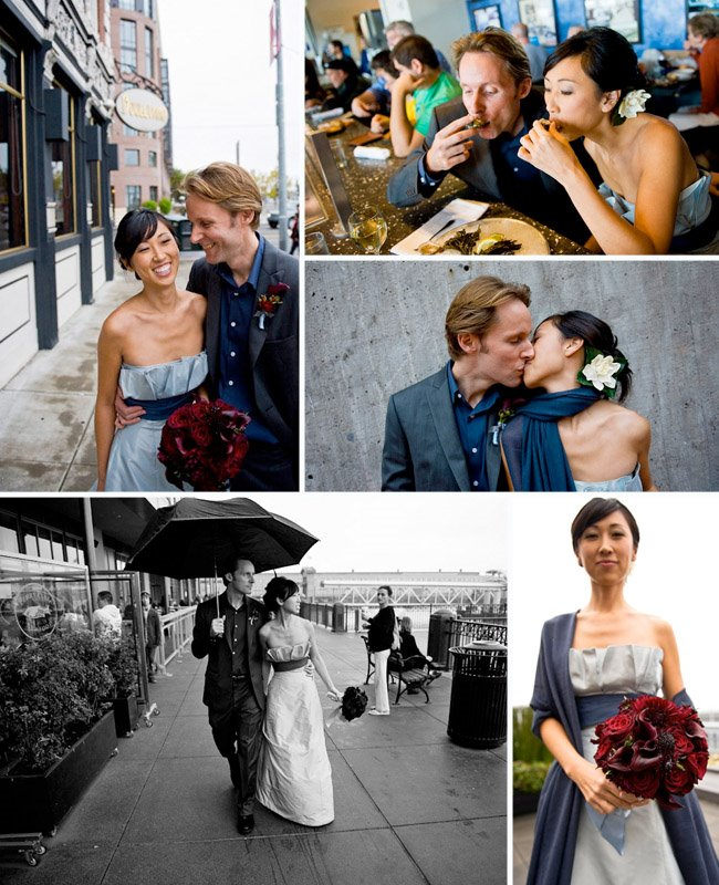 Loralie + Kevin's Intimate San Francisco Real Wedding