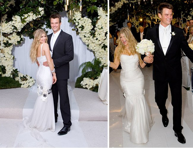 fergie and josh wedding