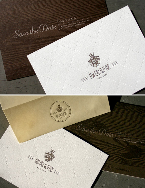 woodgrain letterpress
