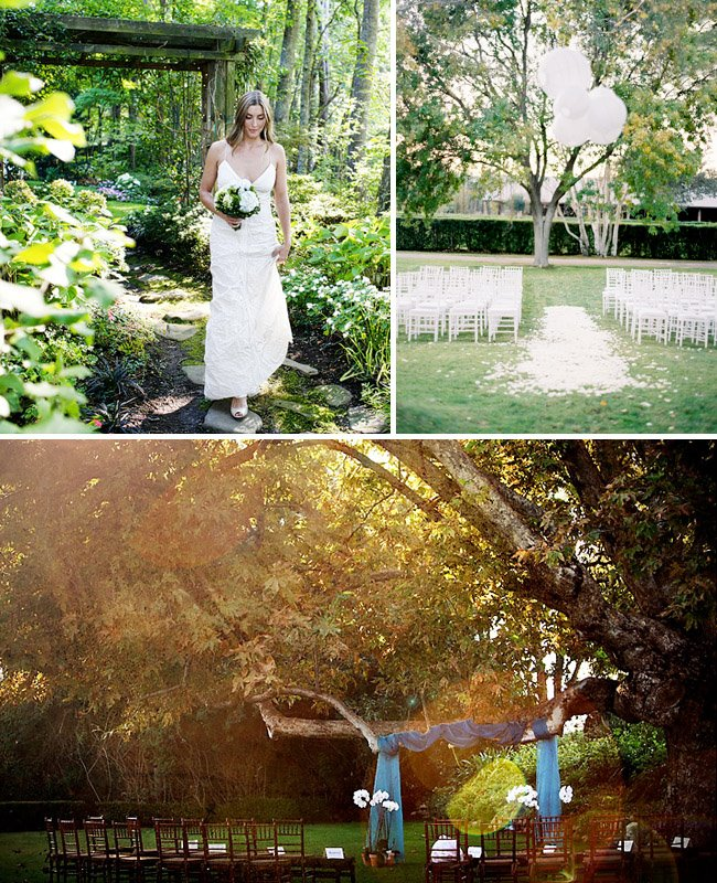 Simple Wedding Idea: How To Throw A Backyard Wedding: Decor