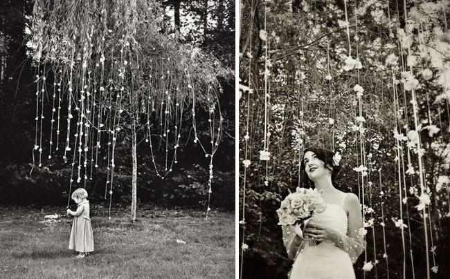How To Throw A Backyard Wedding Decor
