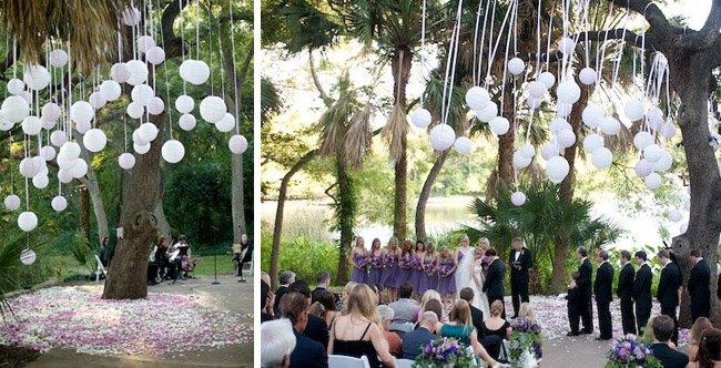 backyard wedding ideas - Decorating A Backyard