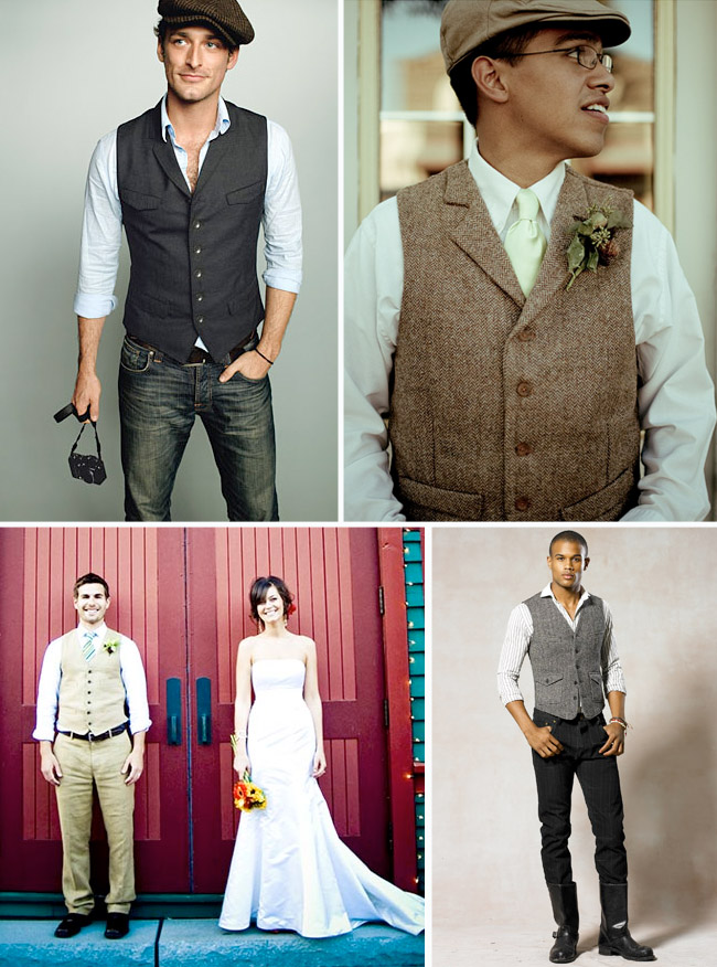 Groom Style A Vest