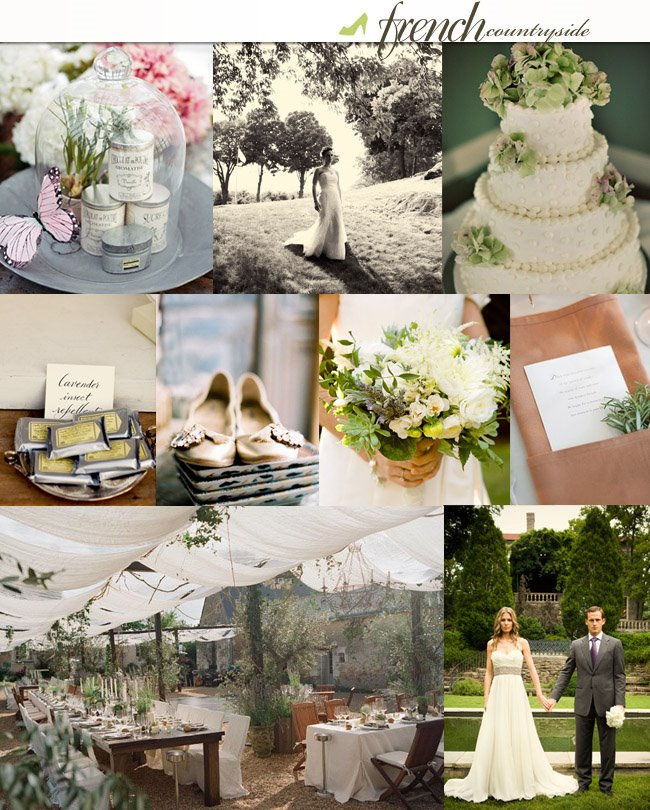 Wedding Ideas And Inspirations: A French Countryside Affair