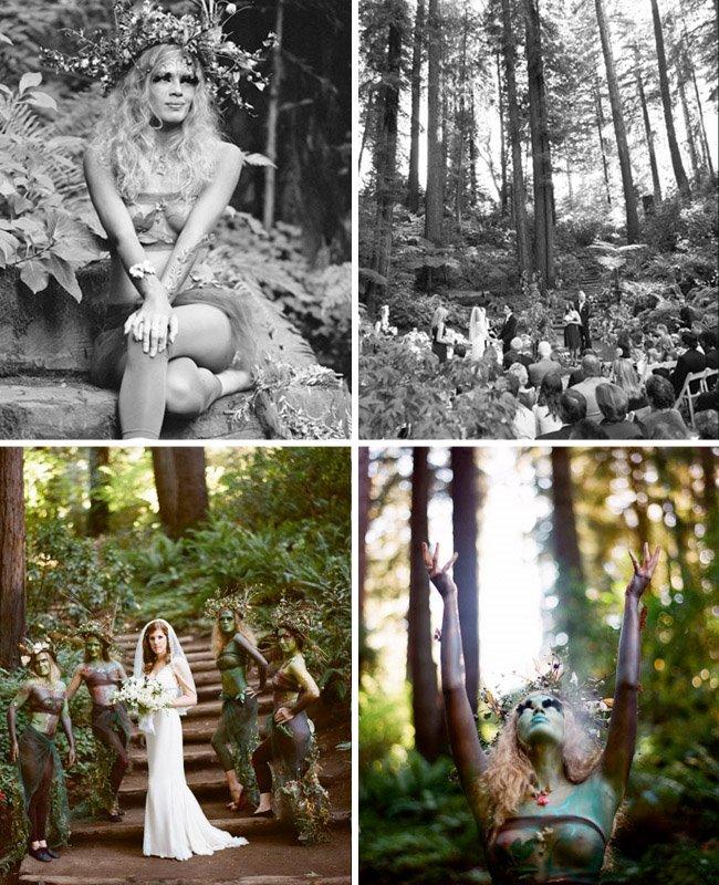 woodland fairy wedding nestldown
