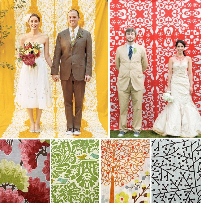 How To Throw A Backyard Wedding: Make Your Own Photo Booth