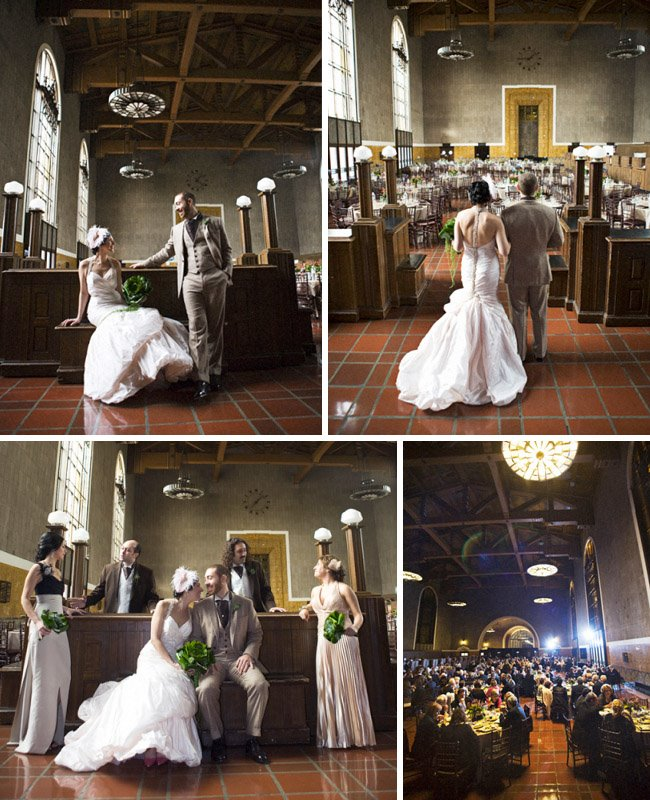 Real Wedding: Belinda + Scott's Wedding At Union Station