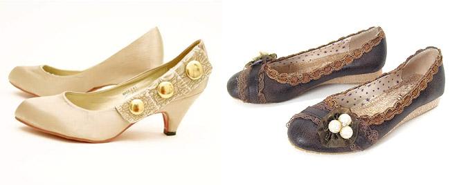 ruche vintage shoes