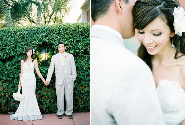 Heather + Jonathan\'s Vintage Garden Real Wedding