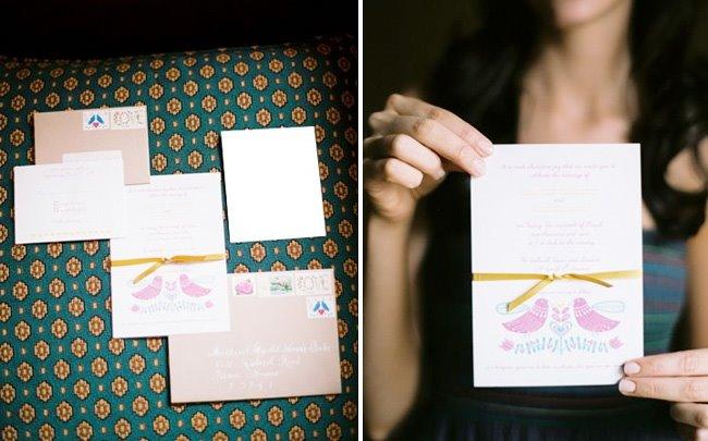 bride invite