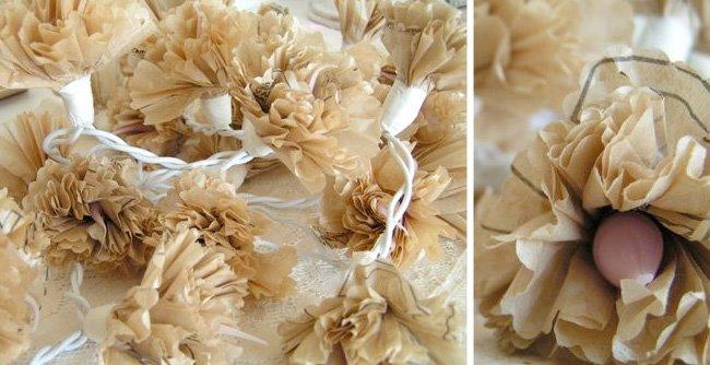 sewing pattern pom flower