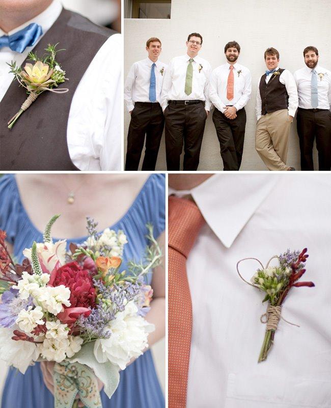 mismatched ties