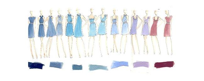 Jenna Bush bridesmaid dresses