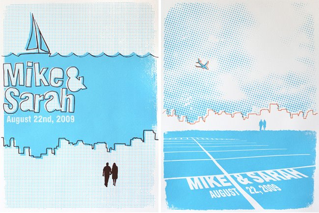 engagement silk screen