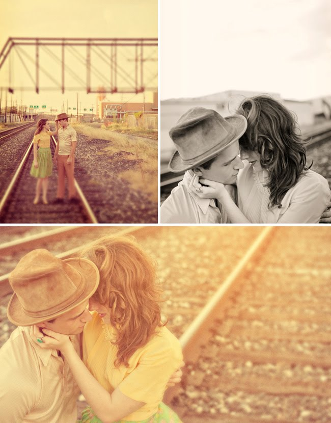 train tracks engagement