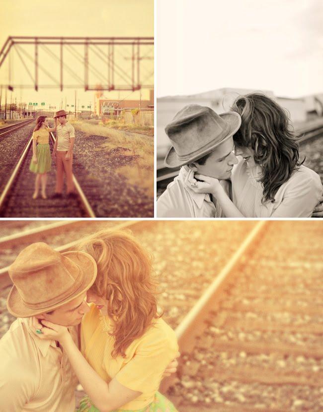 train tracks engagement