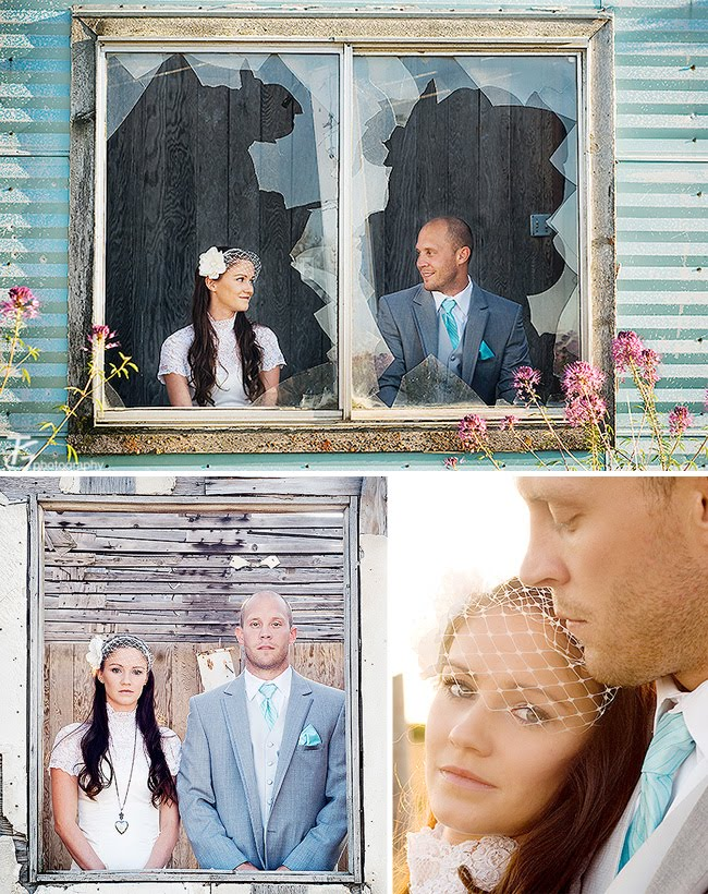 abondoned house pre wedding