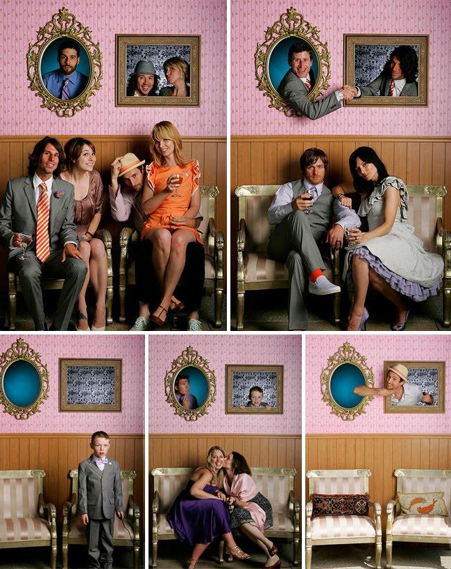 photobooth frame wall
