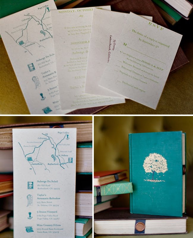 vintage book wedding invitation - Book Wedding Invitations