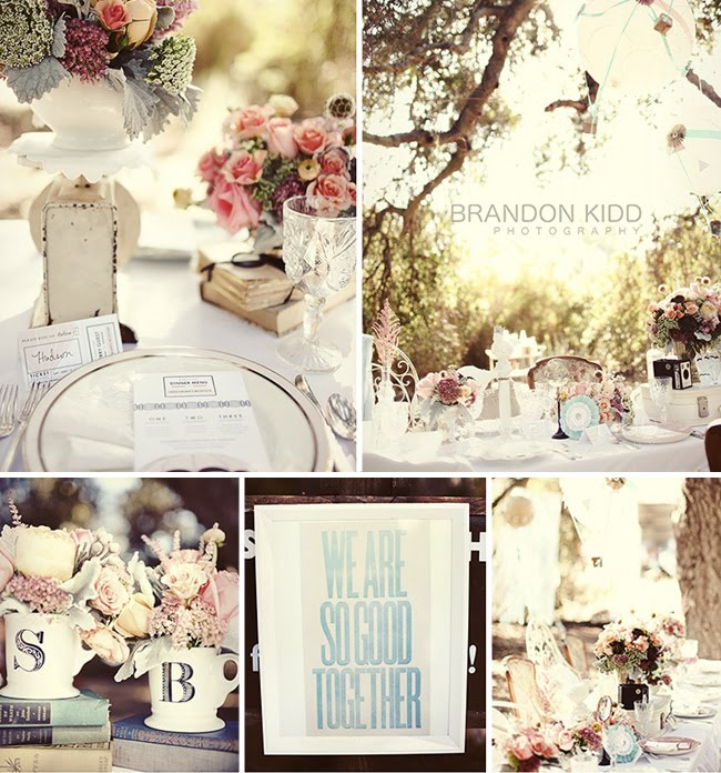 vintage table inspiration