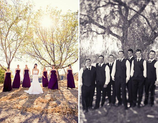 Real Wedding: Heather + Chris's Rustic Fall Wedding