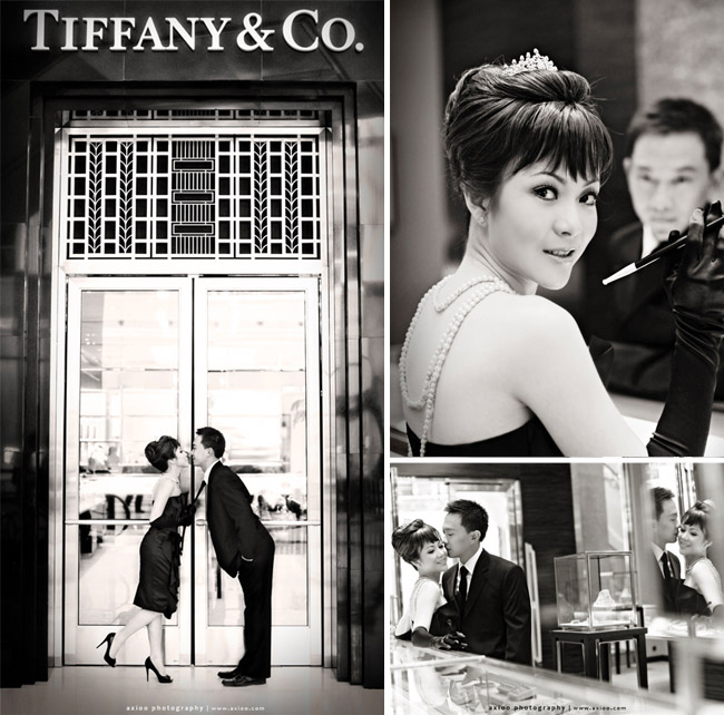 breakfast at tiffanys engagement