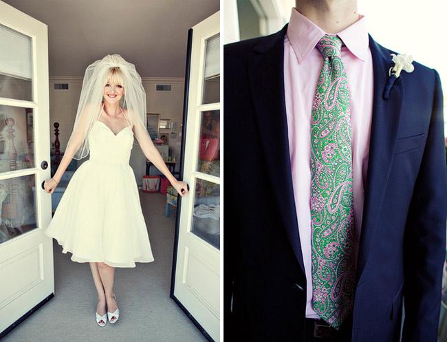 tea length wedding dress
