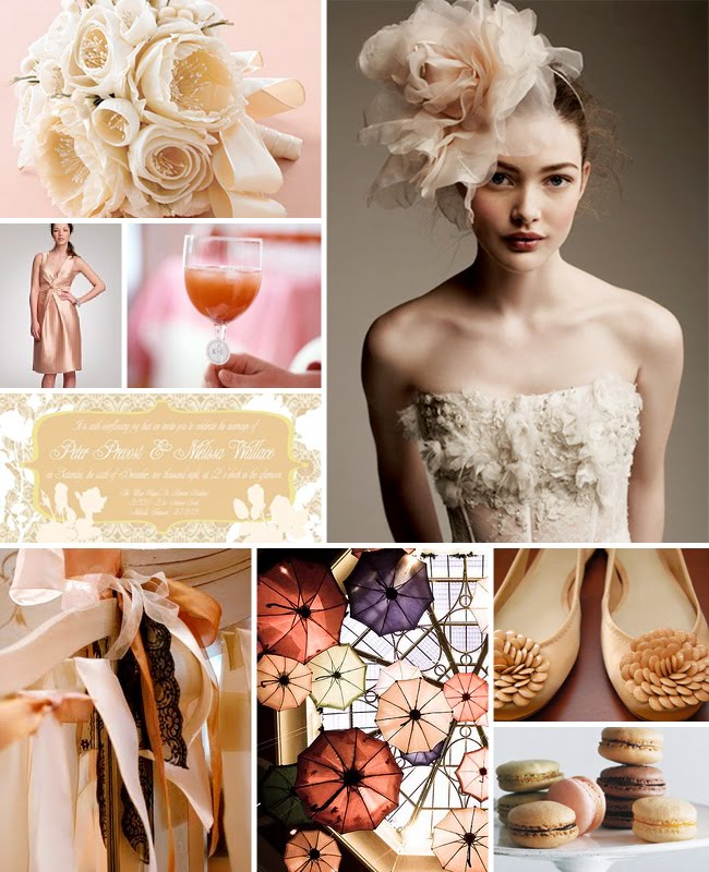 pink inspiration board
