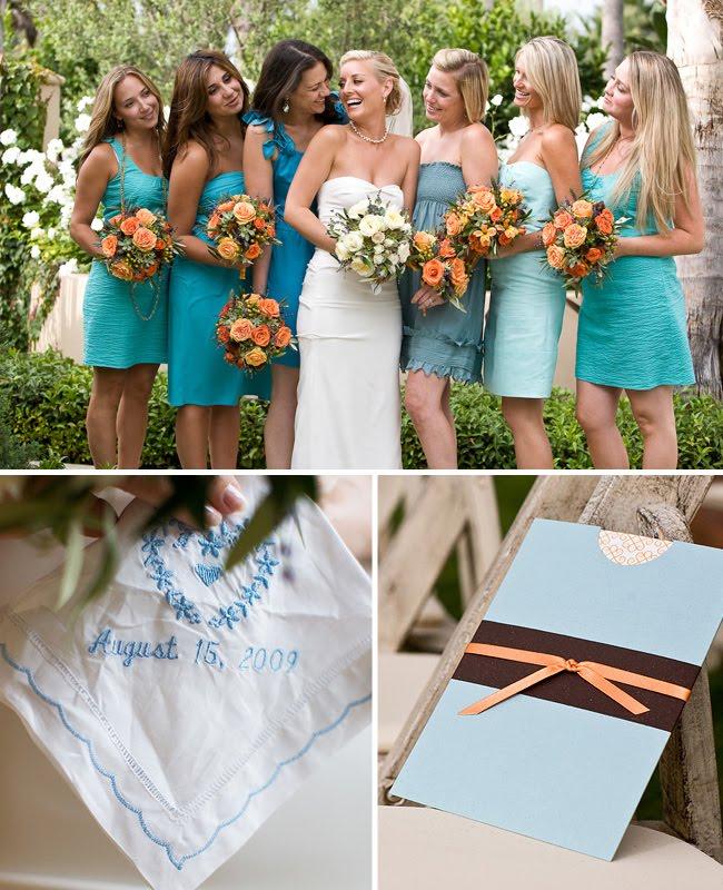 Teal pennebaker wedding