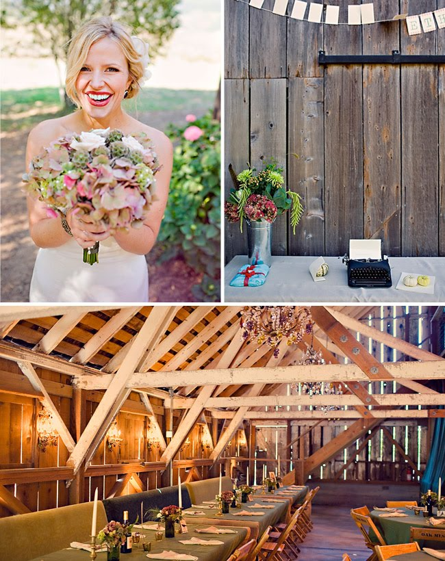 peace barn wedding