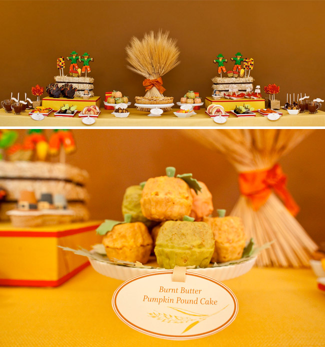 Wedding Dessert Table Recipes: A Thanksgiving Dessert Table By Amy Atlas (and More