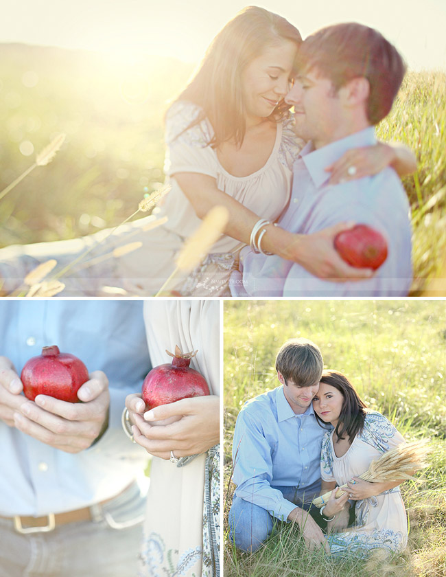 pomegranate engagement