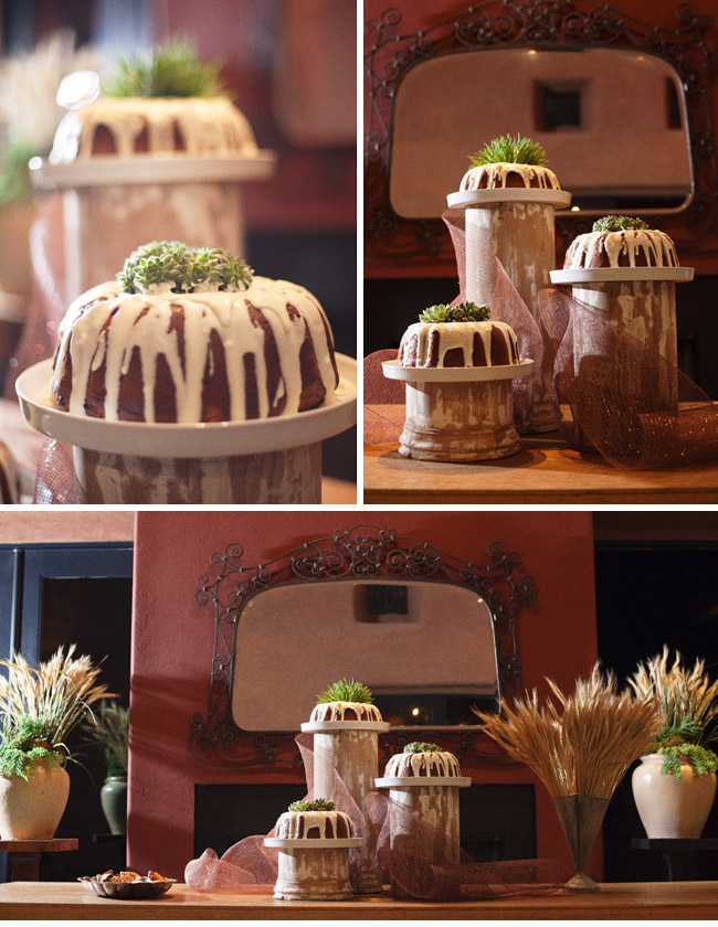 bundt wedding cakes
