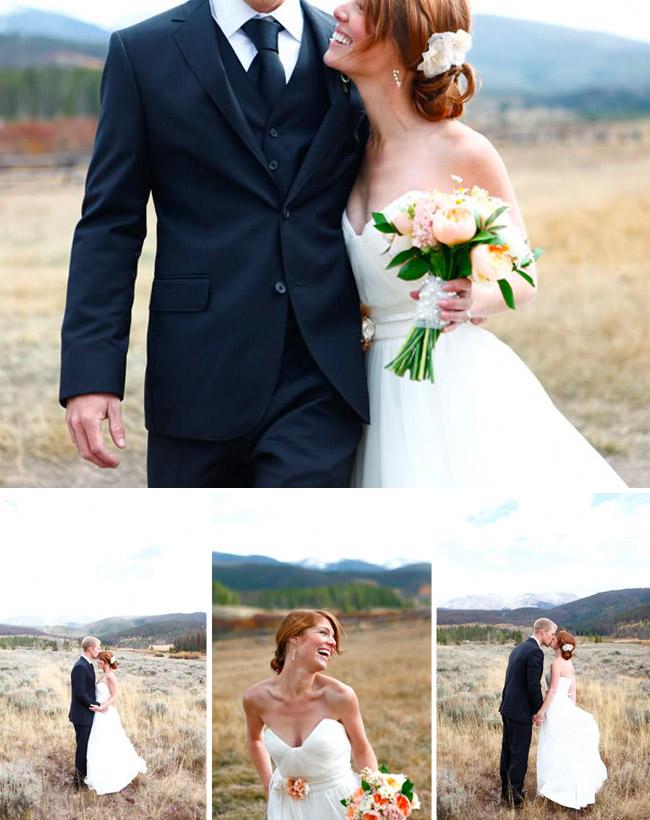 Ali + Ian\'s Rustic Ranch Wedding | Real Wedding
