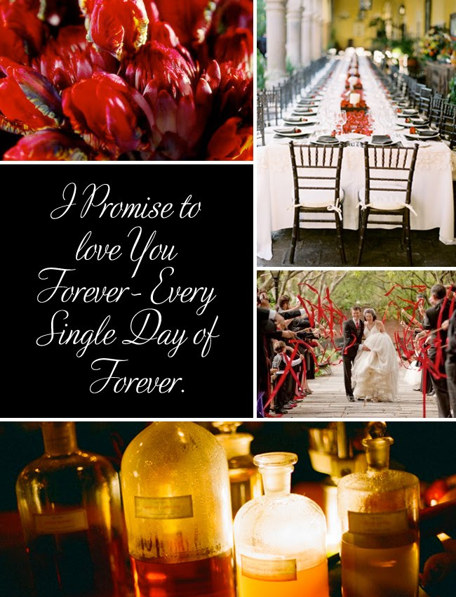 twilight wedding inspiration