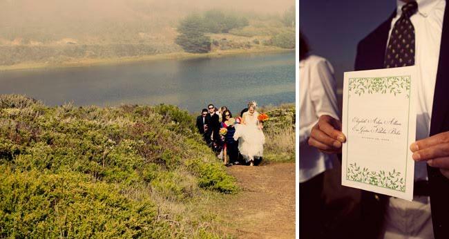 walk to ceremony