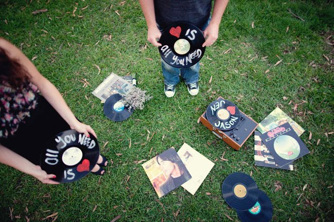 records with painted names