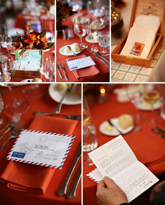 Real Wedding: Joy + Sean's Travel Themed Wedding | Green ...