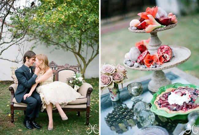 Vintage Alice In Wonderland Wedding Inspiration