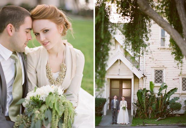 gold necklace wedding