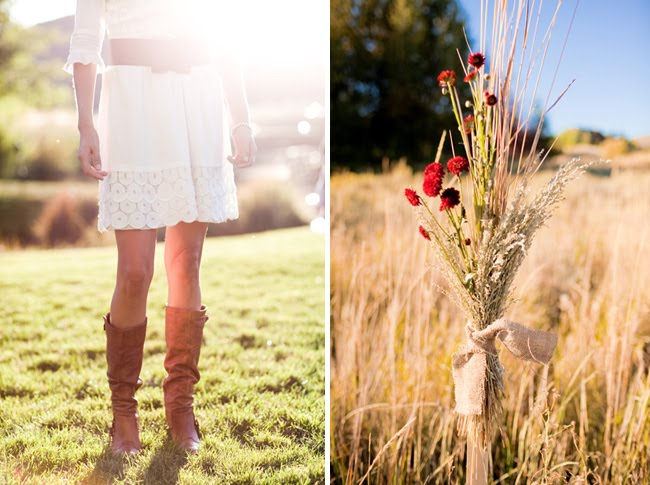 idaho_wedding bride in boots