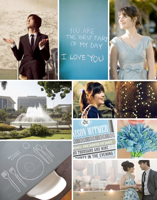 8608cacd0e8d Wedding Inspiration from the Movies  (500) Days of Summer - Green ...