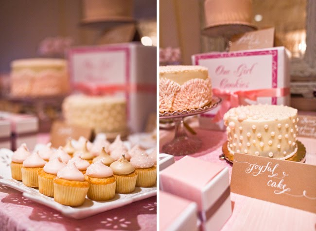A Sweet Pink Dessert Table - Green Wedding Shoes